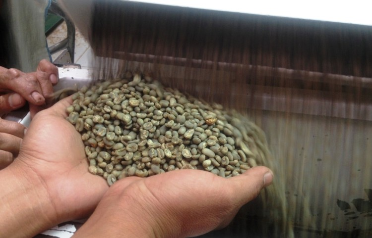 Graded coffee